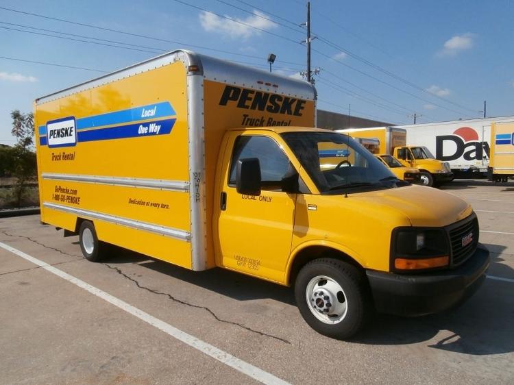 Light Duty Box Truck-Light and Medium Duty Trucks-GMC-2012-Savana G33903-PHARR-TX-124,219 miles-$13,500