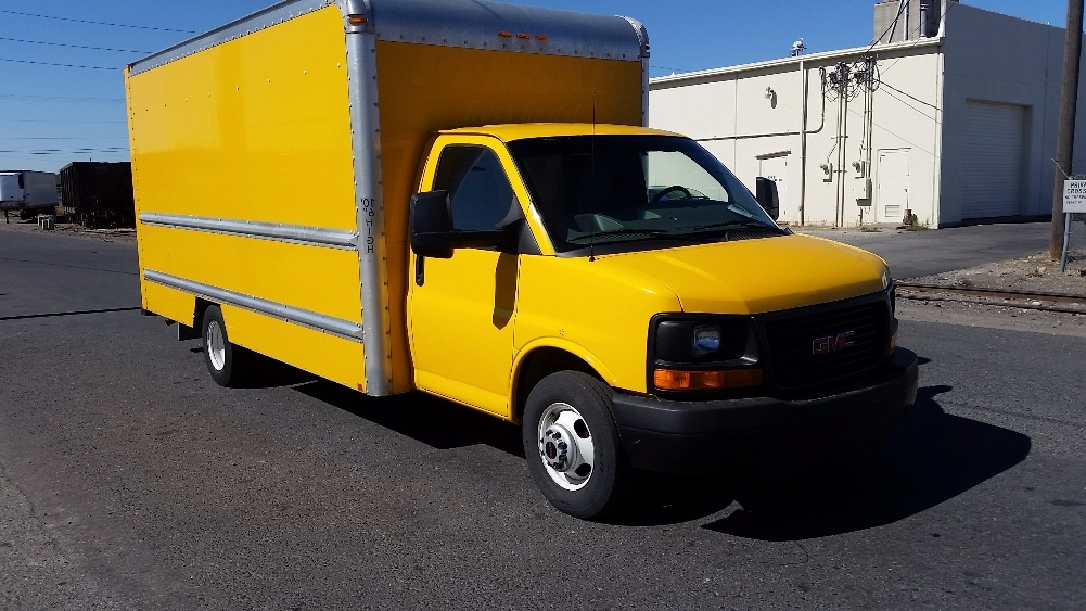 Light Duty Box Truck-Light and Medium Duty Trucks-GMC-2012-Savana G33903-SPOKANE VALLEY-WA-123,048 miles-$7,500