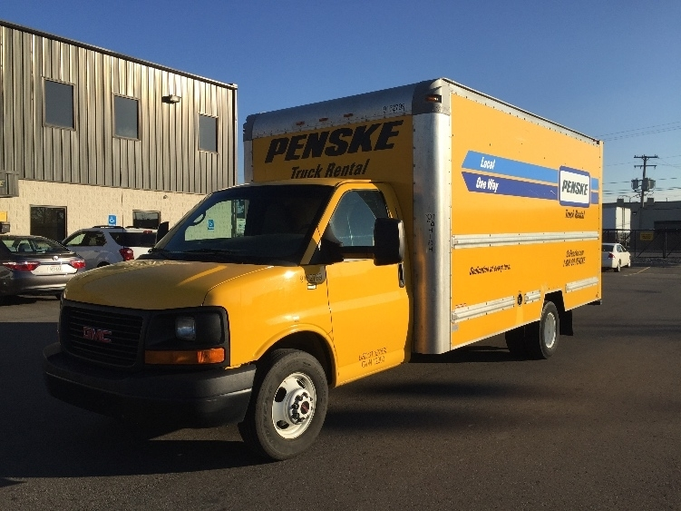 Light Duty Box Truck-Light and Medium Duty Trucks-GMC-2012-Savana G33903-DES MOINES-IA-119,937 miles-$12,250