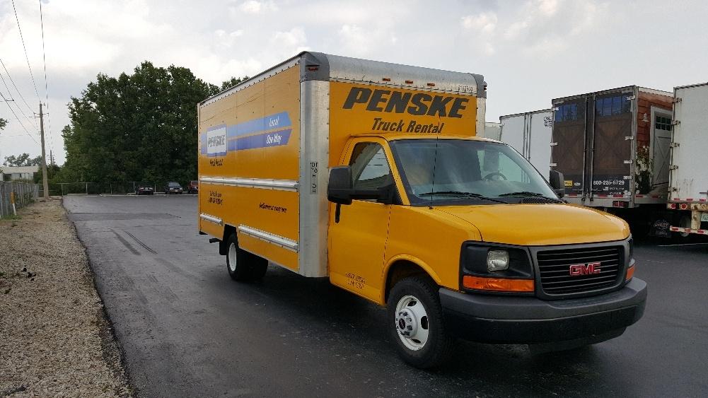 Light Duty Box Truck-Light and Medium Duty Trucks-GMC-2012-Savana G33903-CINCINNATI-OH-122,006 miles-$13,250