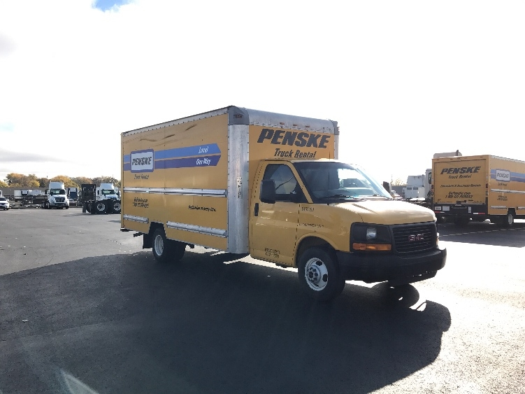 Light Duty Box Truck-Light and Medium Duty Trucks-GMC-2012-Savana G33903-SAGINAW-MI-97,559 miles-$15,500