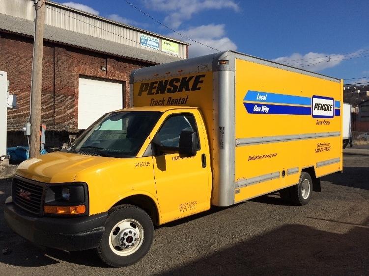 Light Duty Box Truck-Light and Medium Duty Trucks-GMC-2012-Savana G33903-PITTSBURGH-PA-110,371 miles-$14,750