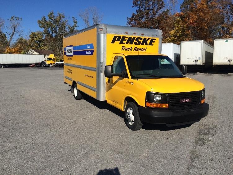 Light Duty Box Truck-Light and Medium Duty Trucks-GMC-2012-Savana G33903-FORT WAYNE-IN-104,399 miles-$15,500