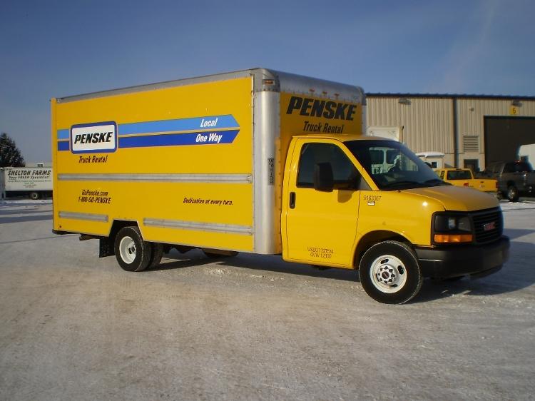 Light Duty Box Truck-Light and Medium Duty Trucks-GMC-2012-Savana G33903-SOUTH BEND-IN-103,463 miles-$15,750