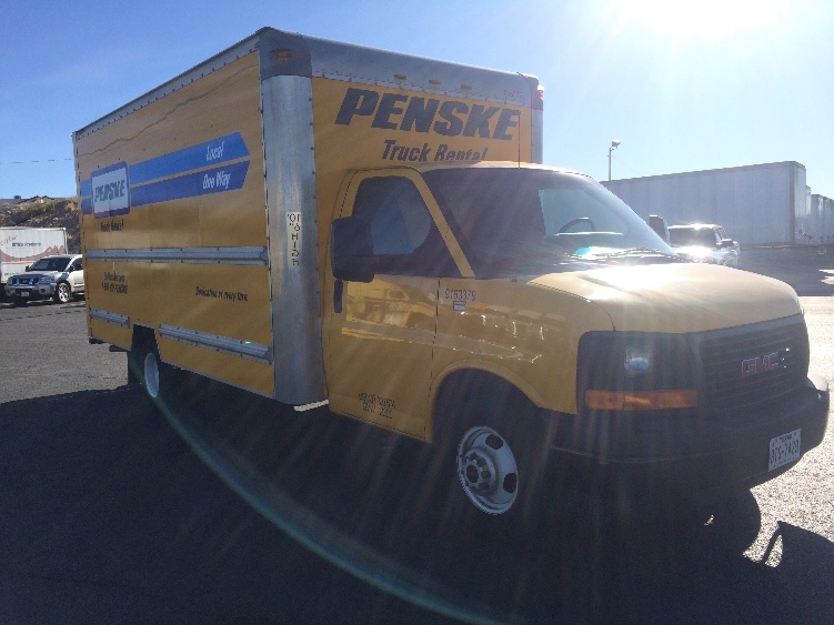 Light Duty Box Truck-Light and Medium Duty Trucks-GMC-2012-Savana G33903-EL PASO-TX-134,086 miles-$12,750