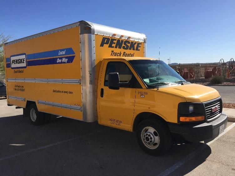 Light Duty Box Truck-Light and Medium Duty Trucks-GMC-2012-Savana G33903-EL PASO-TX-89,963 miles-$17,000