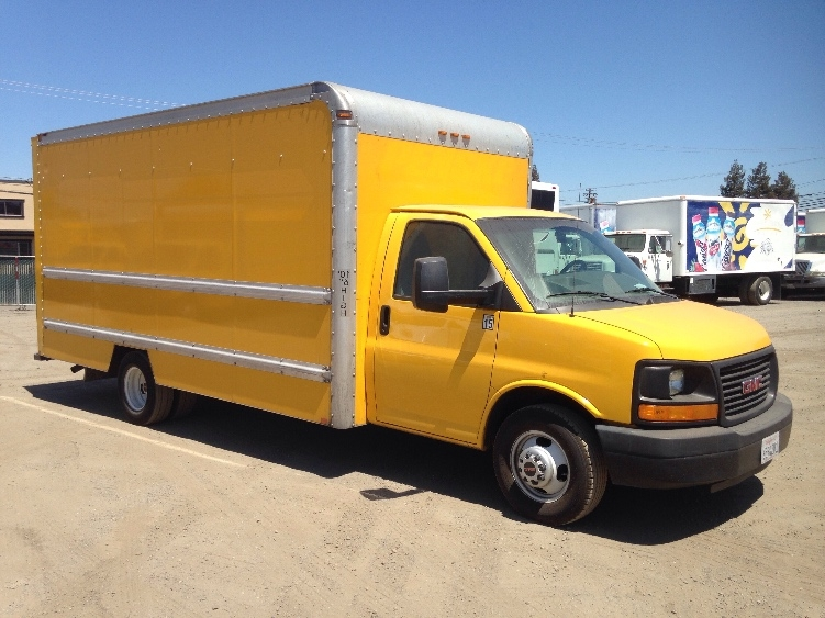 Light Duty Box Truck-Light and Medium Duty Trucks-GMC-2012-Savana G33903-WEST SACRAMENTO-CA-129,681 miles-$13,000