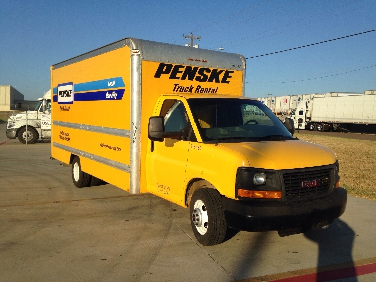 Light Duty Box Truck-Light and Medium Duty Trucks-GMC-2012-Savana G33903-LAREDO-TX-128,830 miles-$11,500