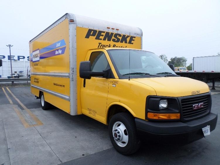 Light Duty Box Truck-Light and Medium Duty Trucks-GMC-2012-Savana G33903-TORRANCE-CA-88,190 miles-$18,500