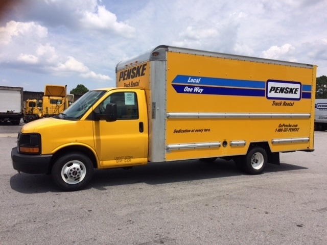Light Duty Box Truck-Light and Medium Duty Trucks-GMC-2012-Savana G33903-ATLANTA-GA-110,218 miles-$14,500