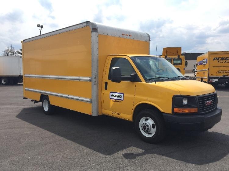 Light Duty Box Truck-Light and Medium Duty Trucks-GMC-2012-Savana G33903-COLUMBUS-OH-125,392 miles-$11,000