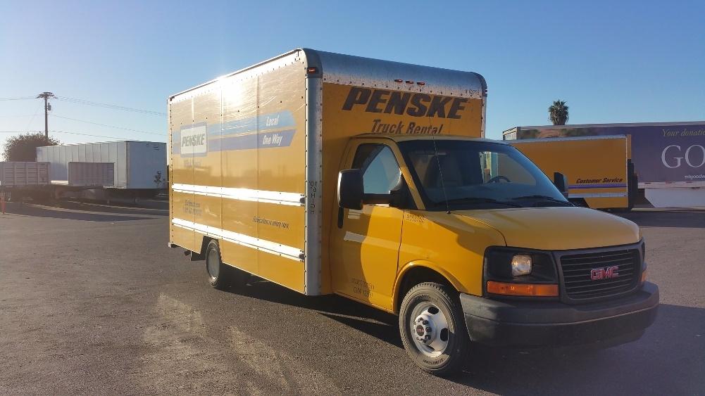 Light Duty Box Truck-Light and Medium Duty Trucks-GMC-2012-Savana G33903-NATIONAL CITY-CA-123,921 miles-$11,750