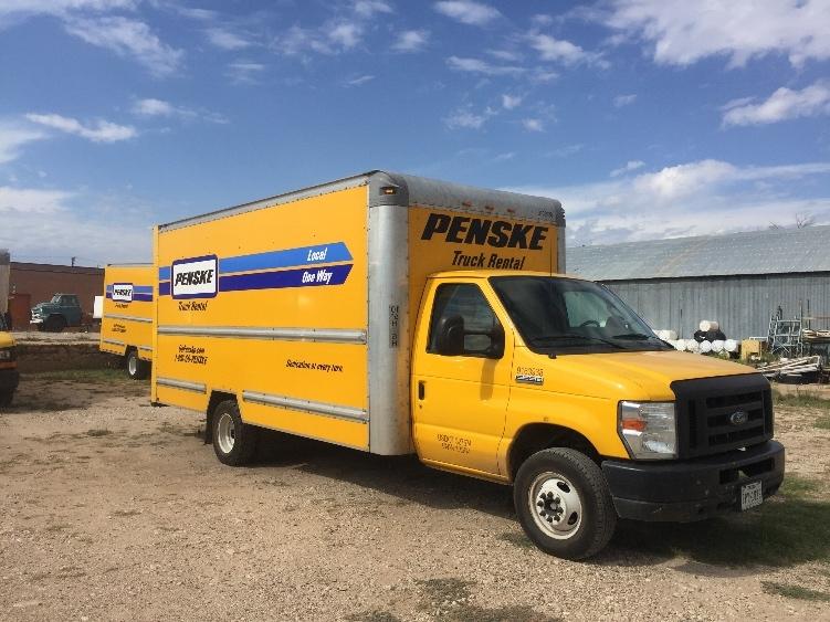 Light Duty Box Truck-Light and Medium Duty Trucks-Ford-2012-E350-LUBBOCK-TX-132,439 miles-$12,000