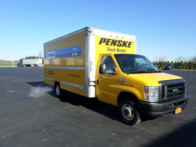 Light Duty Box Truck-Light and Medium Duty Trucks-Ford-2012-E350-ERIE-PA-119,079 miles-$12,500