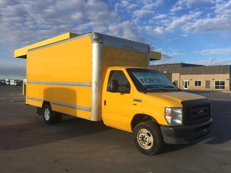 Light Duty Box Truck-Light and Medium Duty Trucks-Ford-2012-E350-LUBBOCK-TX-135,380 miles-$5,750
