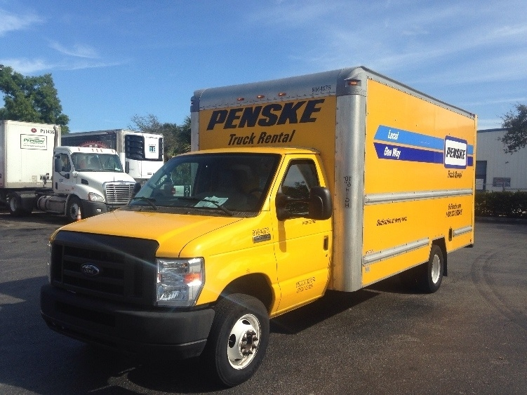 Light Duty Box Truck-Light and Medium Duty Trucks-Ford-2012-E350-RIVIERA BEACH-FL-98,071 miles-$18,250