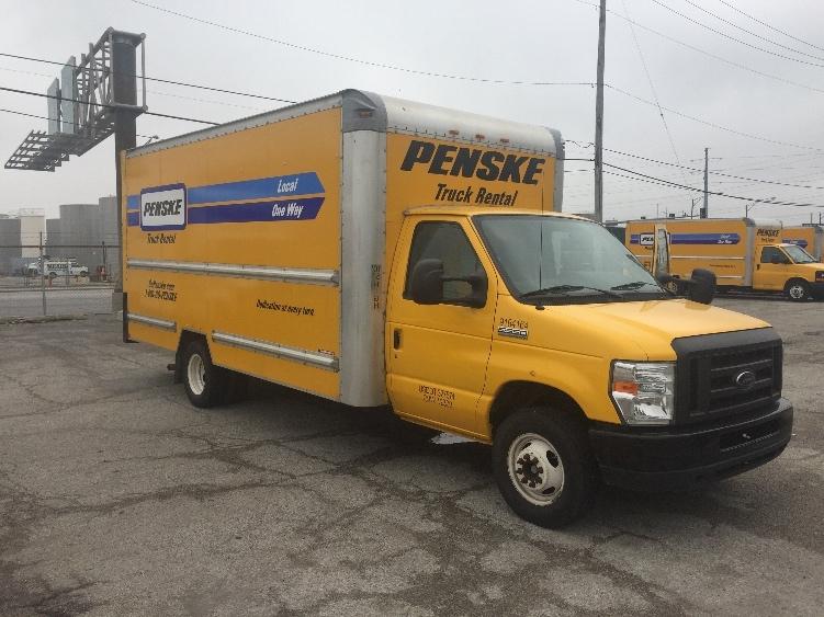 Light Duty Box Truck-Light and Medium Duty Trucks-Ford-2012-E350-STICKNEY-IL-106,846 miles-$15,500