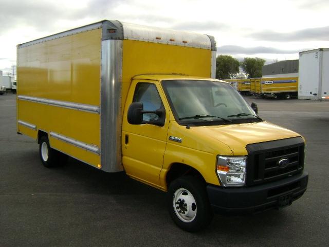 Light Duty Box Truck-Light and Medium Duty Trucks-Ford-2012-E350-BUFFALO-NY-128,079 miles-$11,500