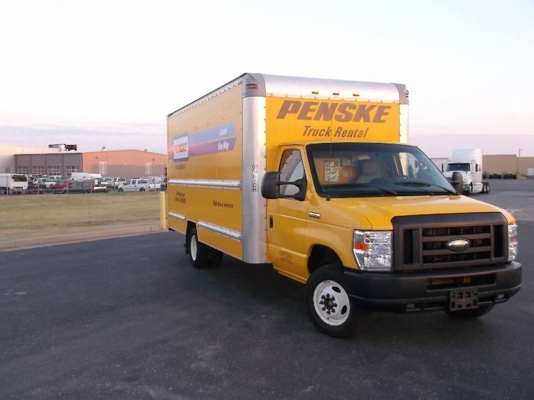 Light Duty Box Truck-Light and Medium Duty Trucks-Ford-2012-E350-OKLAHOMA CITY-OK-96,679 miles-$16,250