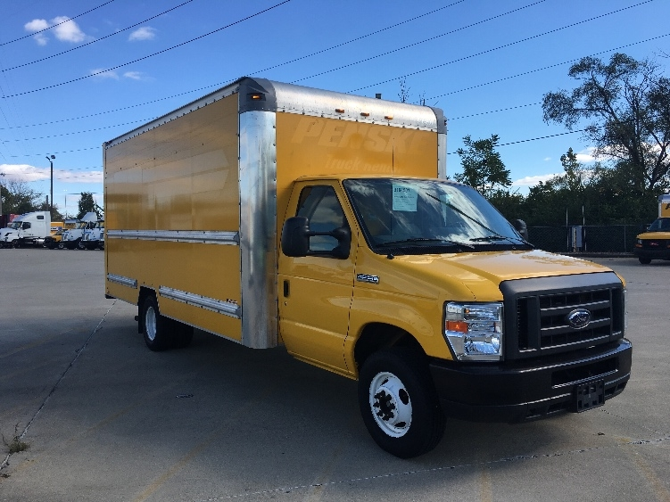 Light Duty Box Truck-Light and Medium Duty Trucks-Ford-2012-E350-INDIANAPOLIS-IN-107,745 miles-$12,250