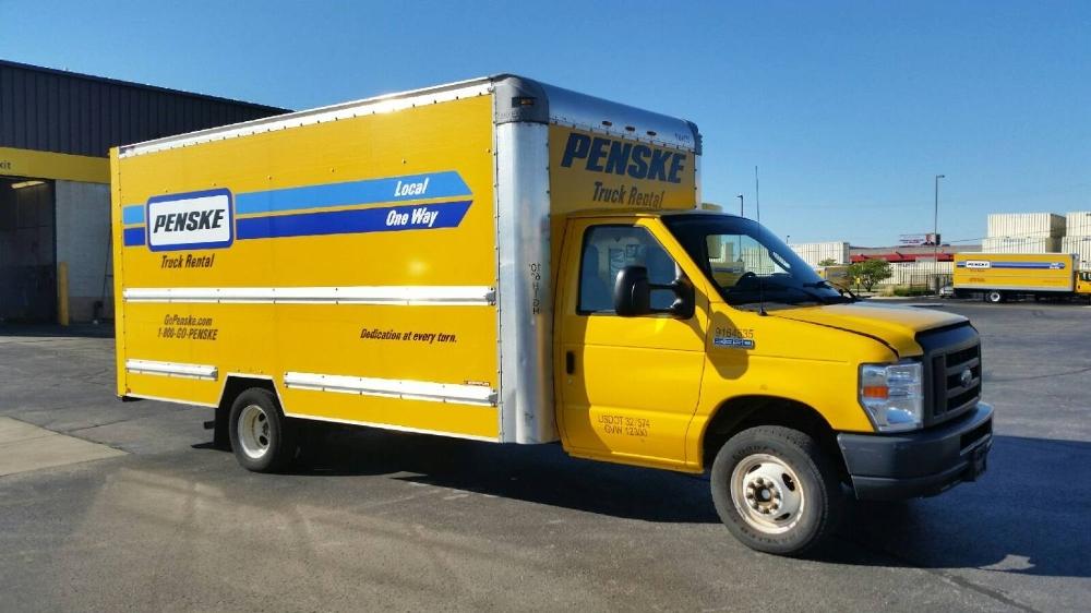Light Duty Box Truck-Light and Medium Duty Trucks-Ford-2012-E350-NEENAH-WI-106,592 miles-$13,500