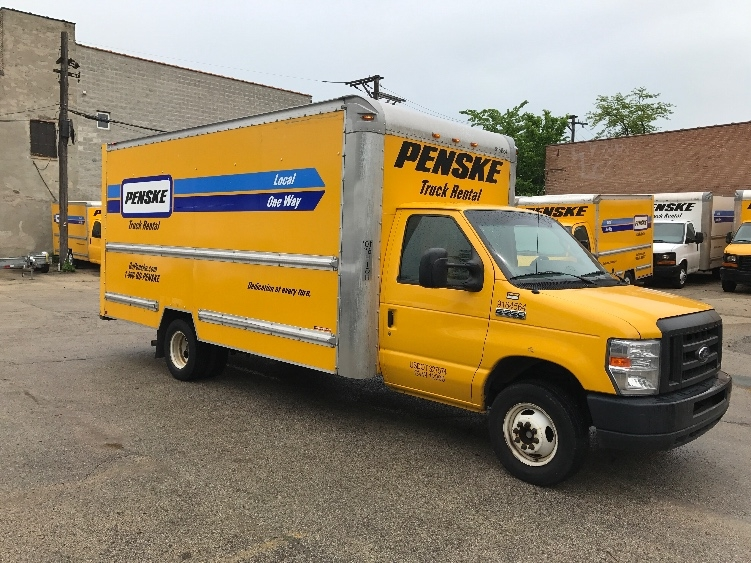 Light Duty Box Truck-Light and Medium Duty Trucks-Ford-2012-E350-ELK GROVE VILLAGE-IL-96,996 miles-$16,250