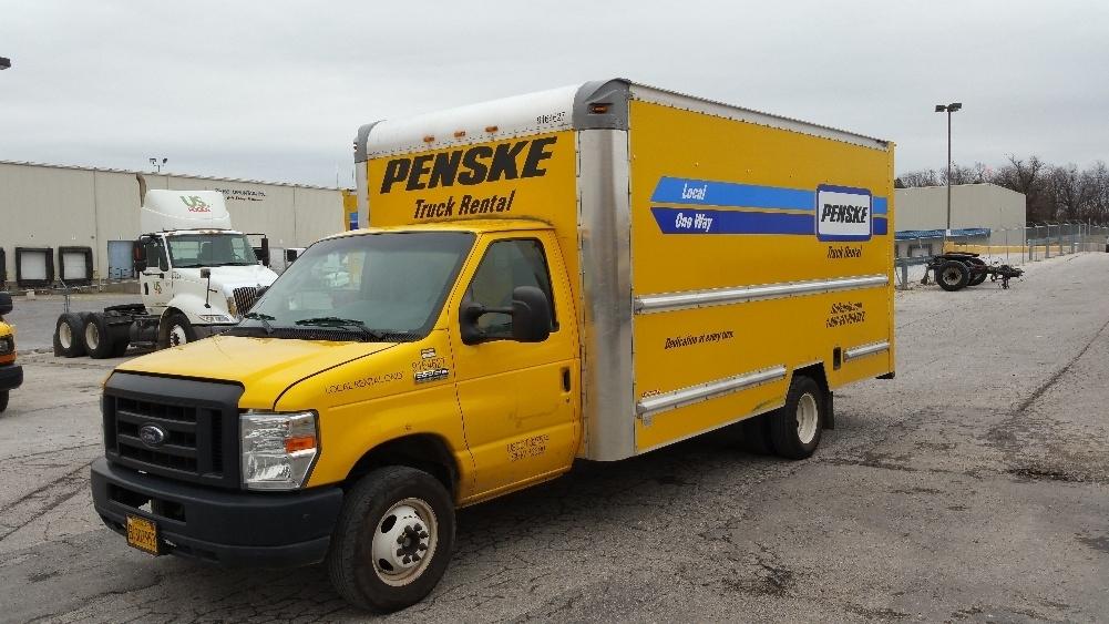 Light Duty Box Truck-Light and Medium Duty Trucks-Ford-2012-E350-LITTLE ROCK-AR-122,714 miles-$14,250