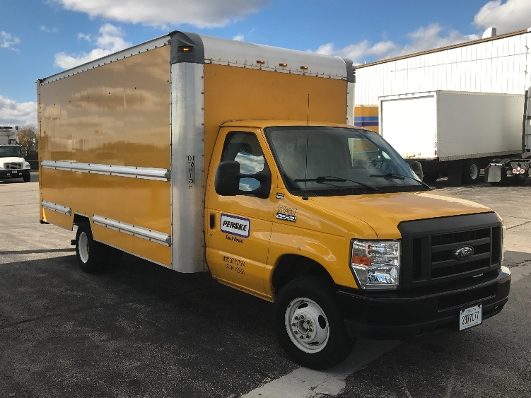 Light Duty Box Truck-Light and Medium Duty Trucks-Ford-2012-E350-ELK GROVE VILLAGE-IL-95,819 miles-$16,250