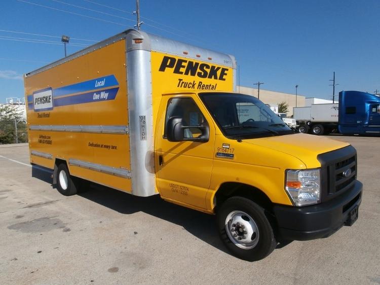 Light Duty Box Truck-Light and Medium Duty Trucks-Ford-2012-E350-SHREVEPORT-LA-116,583 miles-$14,000