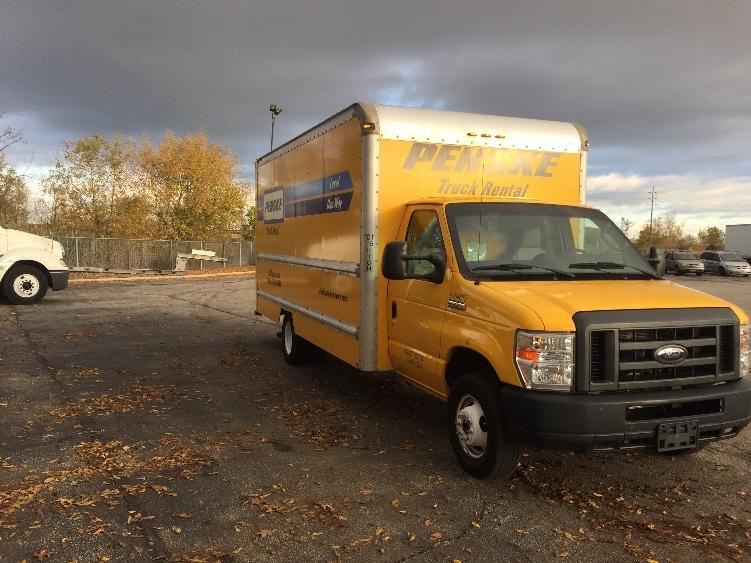 Light Duty Box Truck-Light and Medium Duty Trucks-Ford-2012-E350-BROOK PARK-OH-104,783 miles-$15,500