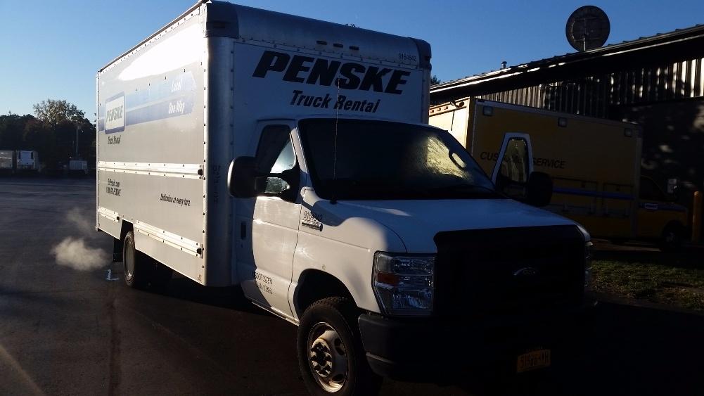 Light Duty Box Truck-Light and Medium Duty Trucks-Ford-2012-E350-ALBANY-NY-137,664 miles-$13,250