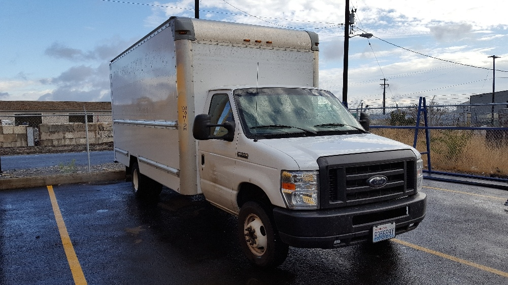 Light Duty Box Truck-Light and Medium Duty Trucks-Ford-2012-E350-SPOKANE VALLEY-WA-66,956 miles-$21,750