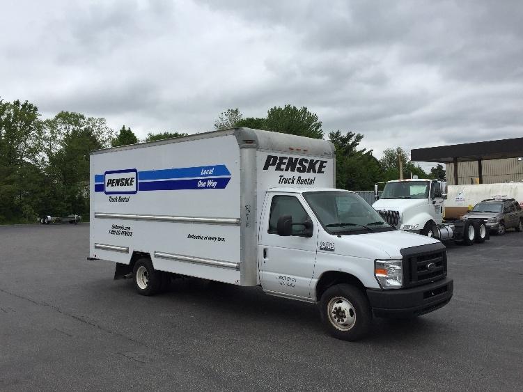 Light Duty Box Truck-Light and Medium Duty Trucks-Ford-2012-E350-EVANSVILLE-IN-148,855 miles-$12,250