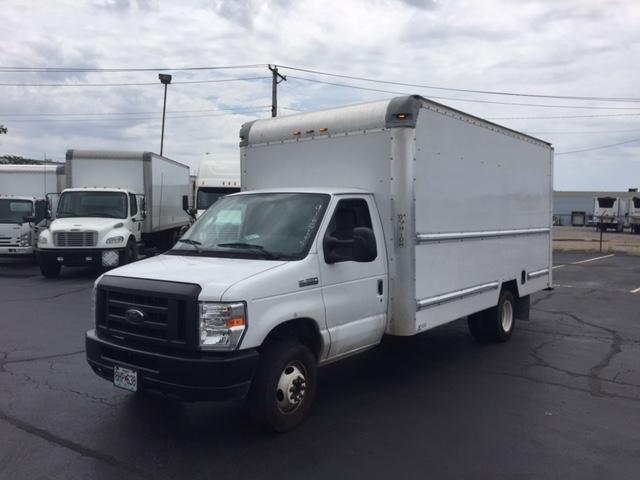 Light Duty Box Truck-Light and Medium Duty Trucks-Ford-2012-E350-EARTH CITY-MO-126,778 miles-$7,500