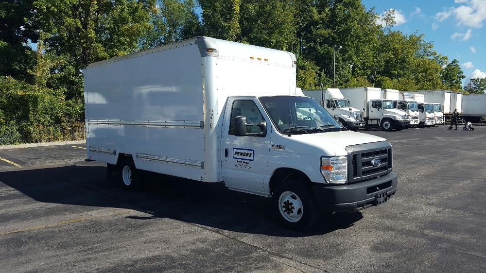 Light Duty Box Truck-Light and Medium Duty Trucks-Ford-2012-E350-WHITESBORO-NY-124,446 miles-$12,250