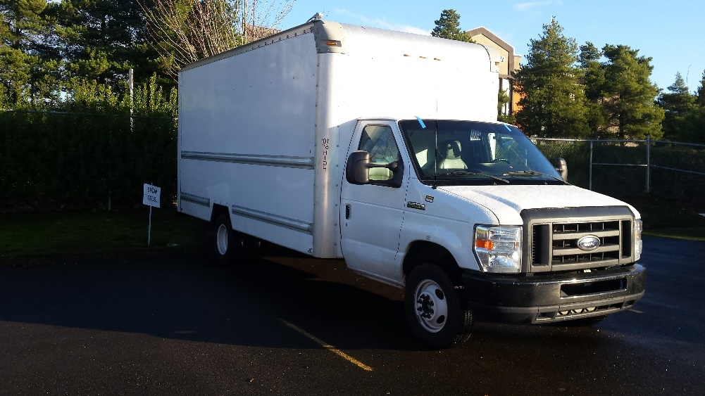 Light Duty Box Truck-Light and Medium Duty Trucks-Ford-2012-E350-WILSONVILLE-OR-131,352 miles-$15,250