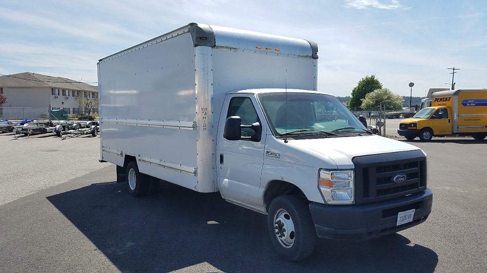 Light Duty Box Truck-Light and Medium Duty Trucks-Ford-2012-E350-SPOKANE VALLEY-WA-80,098 miles-$20,500