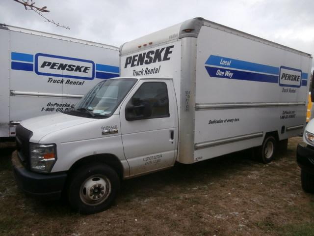 Light Duty Box Truck-Light and Medium Duty Trucks-Ford-2012-E350-GREENVILLE-SC-151,634 miles-$7,250