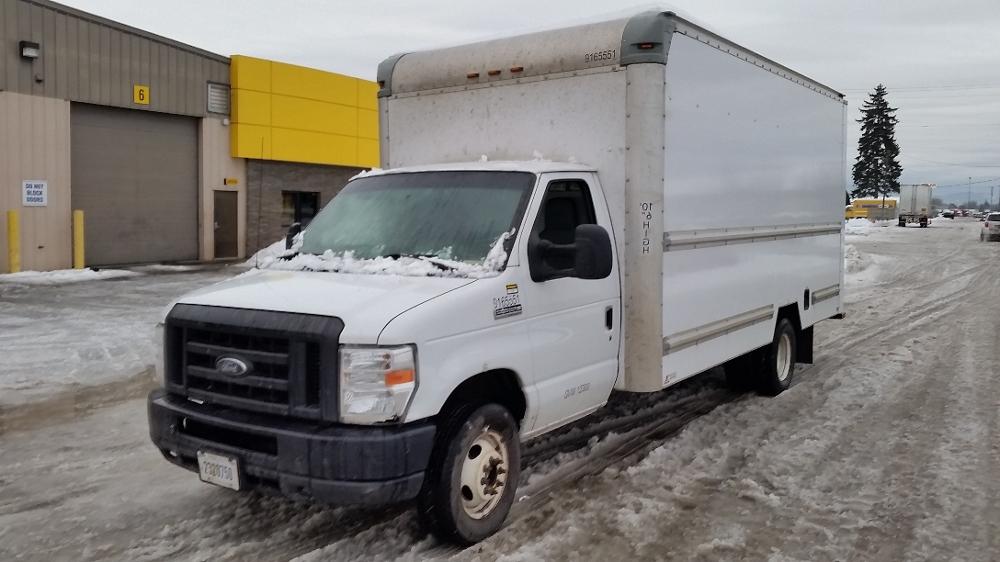 Light Duty Box Truck-Light and Medium Duty Trucks-Ford-2012-E350-TUKWILA-WA-134,147 miles-$7,500