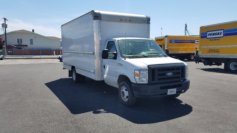 Light Duty Box Truck-Light and Medium Duty Trucks-Ford-2012-E350-SPOKANE VALLEY-WA-118,573 miles-$16,500