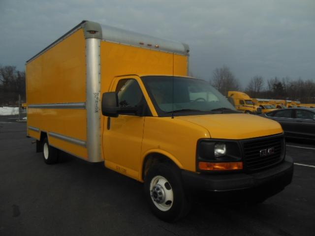 Light Duty Box Truck-Light and Medium Duty Trucks-GMC-2013-Savana G33903-MONTGOMERY-NY-130,395 miles-$14,250