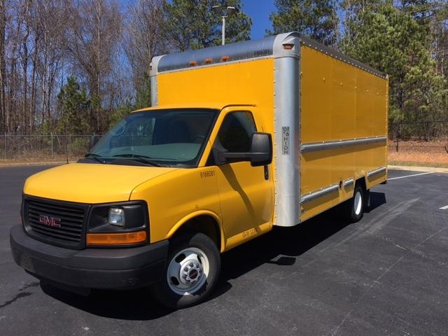 Light Duty Box Truck-Light and Medium Duty Trucks-GMC-2013-Savana G33903-KENNESAW-GA-114,852 miles-$15,500