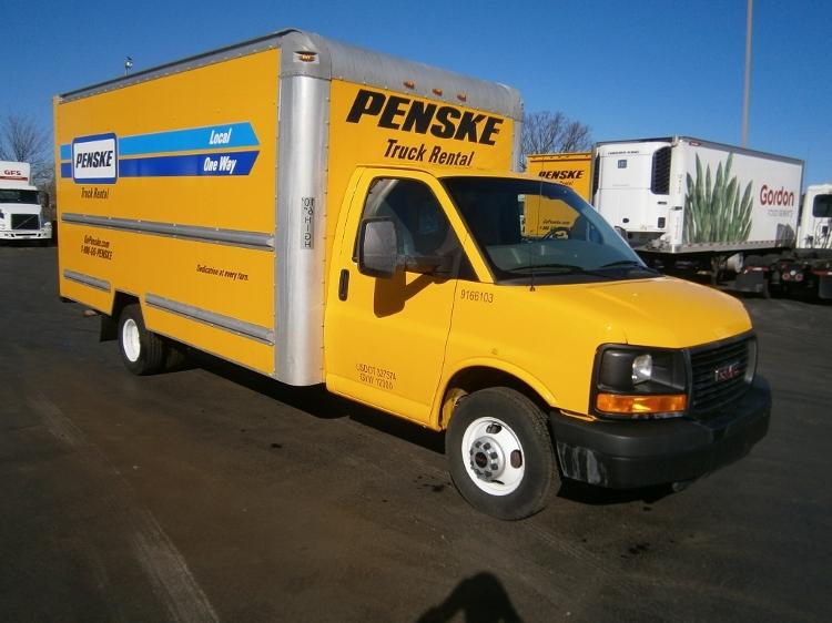 Light Duty Box Truck-Light and Medium Duty Trucks-GMC-2013-Savana G33903-BETHLEHEM-PA-123,077 miles-$15,000