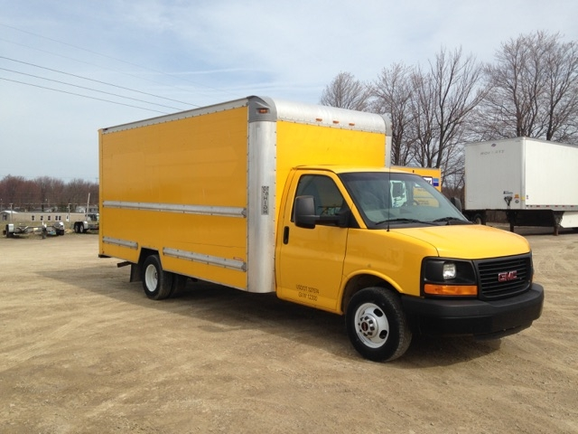 Light Duty Box Truck-Light and Medium Duty Trucks-GMC-2013-Savana G33903-ERIE-PA-129,106 miles-$14,500