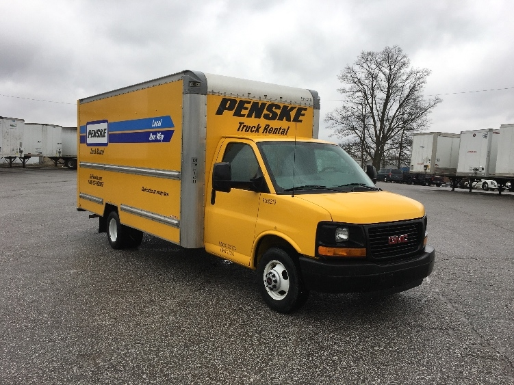 Light Duty Box Truck-Light and Medium Duty Trucks-GMC-2014-Savana G33903-FORT WAYNE-IN-65,678 miles-$22,750