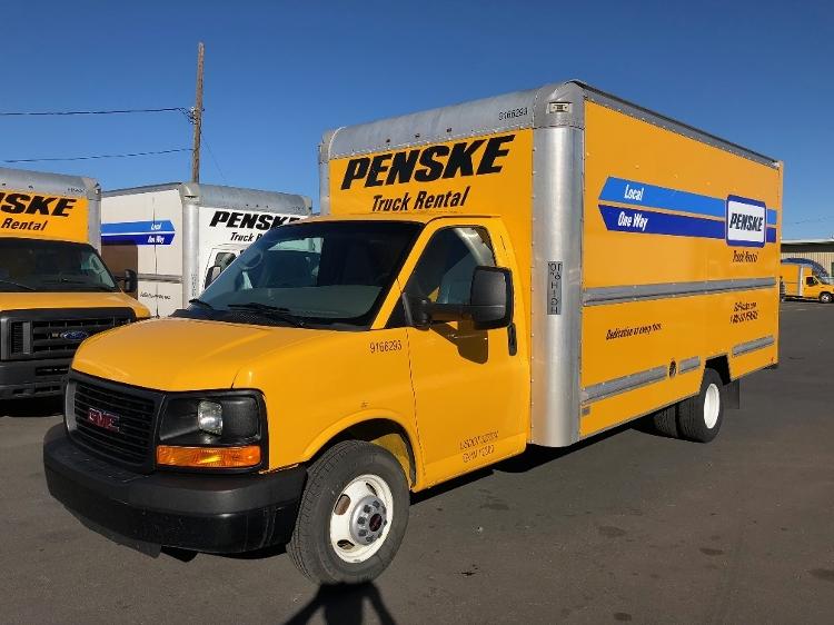 Light Duty Box Truck-Light and Medium Duty Trucks-GMC-2014-Savana G33903-SPARKS-NV-134,515 miles-$13,250
