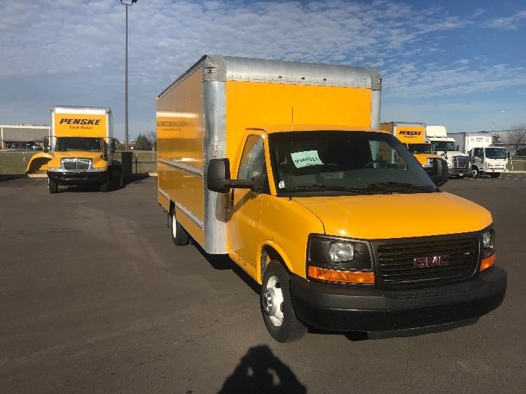 Light Duty Box Truck-Light and Medium Duty Trucks-GMC-2014-Savana G33903-ROMEOVILLE-IL-115,489 miles-$17,250