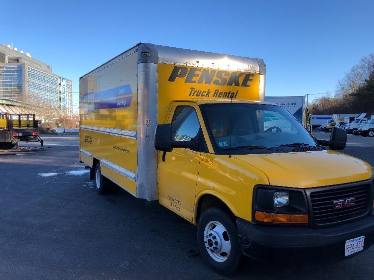 Light Duty Box Truck-Light and Medium Duty Trucks-GMC-2014-Savana G33903-AUBURN-MA-83,728 miles-$21,000