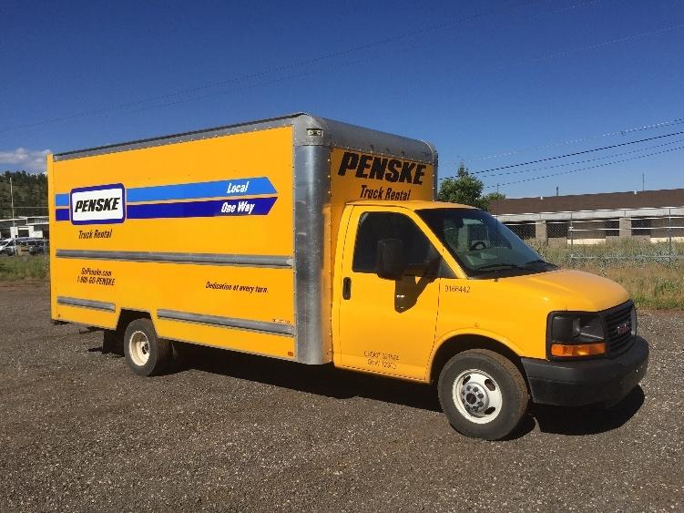 Light Duty Box Truck-Light and Medium Duty Trucks-GMC-2014-Savana G33903-FLAGSTAFF-AZ-140,642 miles-$14,500