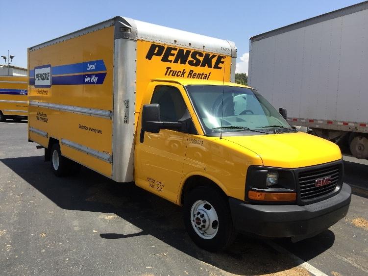 Light Duty Box Truck-Light and Medium Duty Trucks-GMC-2014-Savana G33903-RIVERSIDE-CA-124,373 miles-$16,750